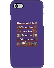 Addicted To Reading Phone Case tile
