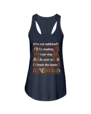 Addicted To Reading Ladies Flowy Tank tile
