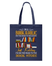 To The Bookstore Tote Bag tile
