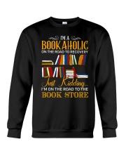 To The Bookstore Crewneck Sweatshirt tile