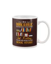 To The Bookstore Mug tile