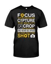 Focus Your Passion Classic T-Shirt front