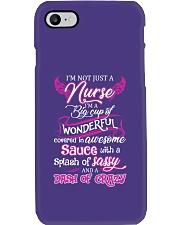 Not Just A Nurse Phone Case tile