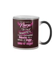 Not Just A Nurse Color Changing Mug tile