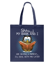 My Book And I Tote Bag tile