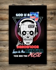God Is A DJ 11x17 Poster aos-poster-portrait-11x17-lifestyle-14