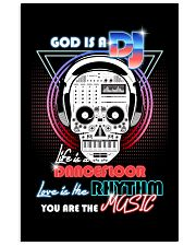 God Is A DJ 11x17 Poster front