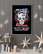 God Is A DJ 11x17 Poster lifestyle-holiday-poster-1