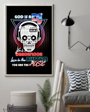 God Is A DJ 11x17 Poster lifestyle-poster-1