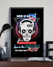 God Is A DJ 11x17 Poster lifestyle-poster-2