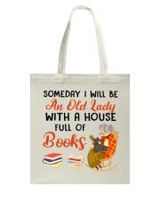 Full Of Books Tote Bag tile