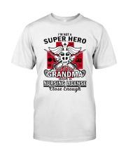 Nursing License Classic T-Shirt front
