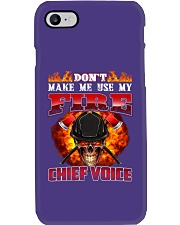 Don't Make Me Use My Chief Voice  Phone Case tile