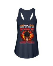 Don't Make Me Use My Chief Voice  Ladies Flowy Tank tile