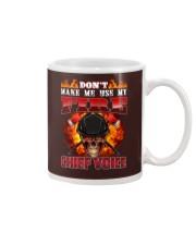 Don't Make Me Use My Chief Voice  Mug tile