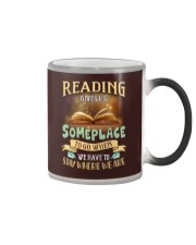 Place To Go Color Changing Mug tile