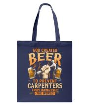 Prevent Carpenters Tote Bag tile