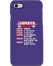 Hourly Rate Phone Case tile