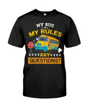 My Bus My Rules Classic T-Shirt tile