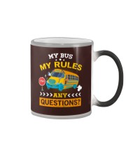 My Bus My Rules Color Changing Mug tile