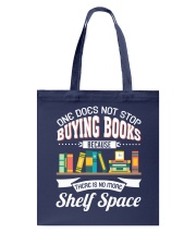 Not Stop Buying Books Tote Bag tile