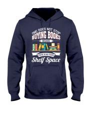 Not Stop Buying Books Hooded Sweatshirt tile