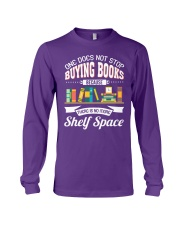 Not Stop Buying Books Long Sleeve Tee tile