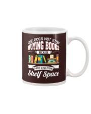 Not Stop Buying Books Mug tile