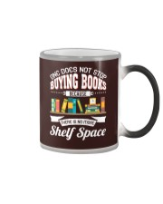 Not Stop Buying Books Color Changing Mug tile