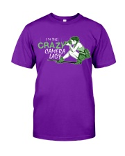 Crazy Camera Lady Classic T-Shirt front