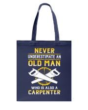 Old Carpenter Tote Bag tile