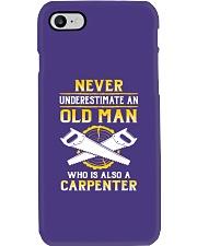 Old Carpenter Phone Case tile