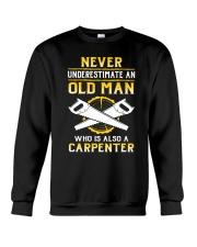 Old Carpenter Crewneck Sweatshirt tile