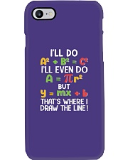 Draw The Line Phone Case tile