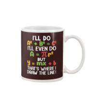 Draw The Line Mug tile