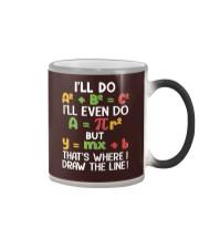 Draw The Line Color Changing Mug tile
