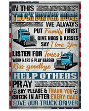 Love Our Truck Driver 11x17 Poster front