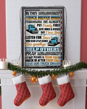 Love Our Truck Driver 11x17 Poster lifestyle-holiday-poster-4