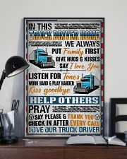 Love Our Truck Driver 11x17 Poster lifestyle-poster-2