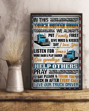 Love Our Truck Driver 11x17 Poster lifestyle-poster-3