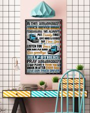 Love Our Truck Driver 11x17 Poster lifestyle-poster-6