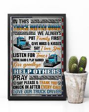 Love Our Truck Driver 11x17 Poster lifestyle-poster-8