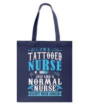 Tattooed Nurse Tote Bag tile