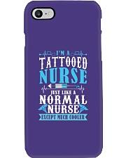Tattooed Nurse Phone Case tile