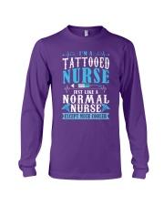 Tattooed Nurse Long Sleeve Tee tile