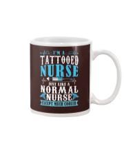Tattooed Nurse Mug tile