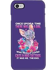 Cat Tattoo Phone Case tile