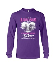 Wife Of A Freaking Awesome Biker Long Sleeve Tee thumbnail