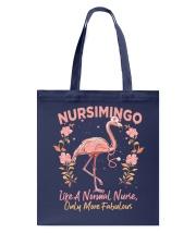 Not Like A Normal Nurse Tote Bag tile