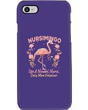 Not Like A Normal Nurse Phone Case tile